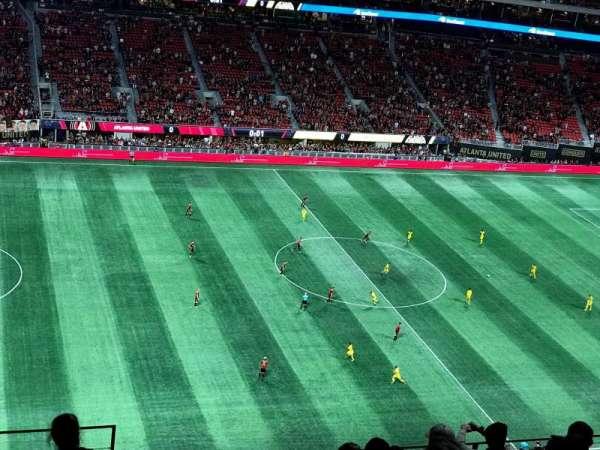 Mercedes-Benz Stadium, section: 342, row: 9, seat: 23