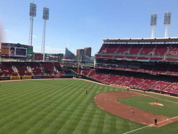 Great American Ball Park, section: 412, row: C, seat: 4
