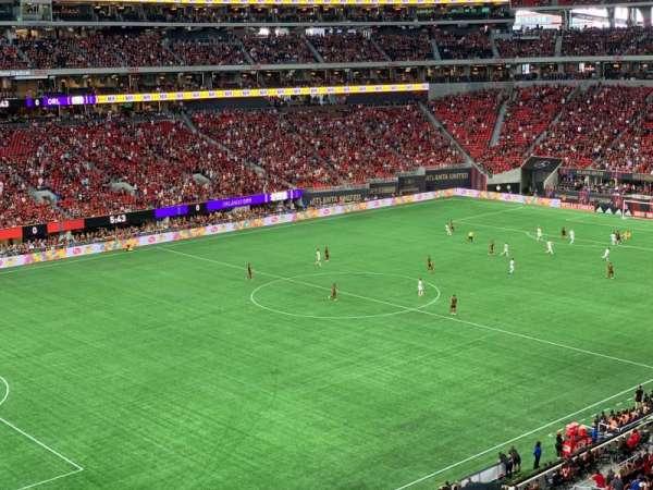 Mercedes-Benz Stadium, section: 243, row: 2, seat: 7