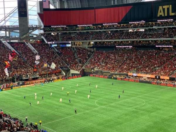 Mercedes-Benz Stadium, section: 231, row: 7, seat: 20
