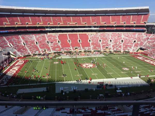 Bryant-Denny Stadium, section: GG, row: 1, seat: 18