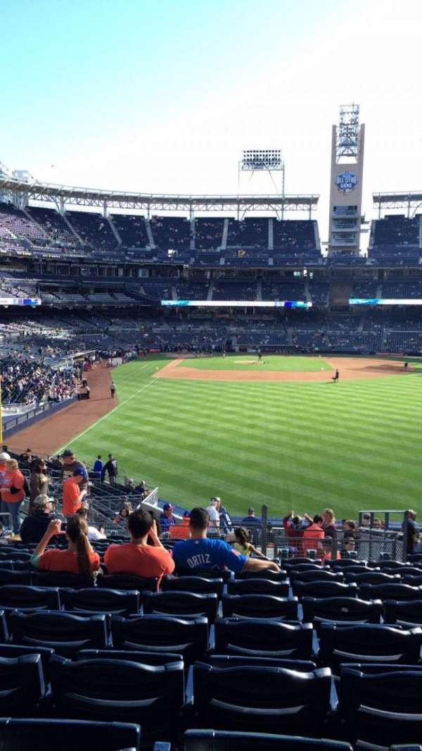 PETCO Park, section: RL131, row: 20, seat: 8