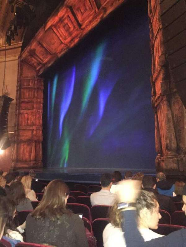 St. James Theatre, section: Orchestra R, row: G, seat: 22