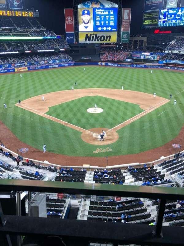 Citi Field, section: 415, row: 1, seat: 8