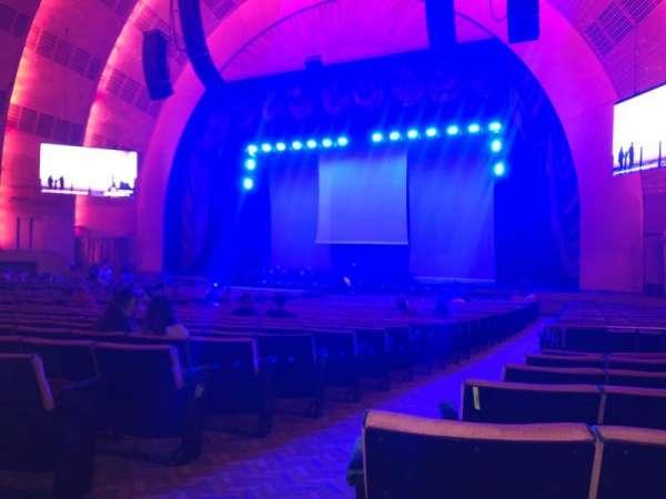 Radio City Music Hall, section: Orchestra 2, row: C, seat: 213
