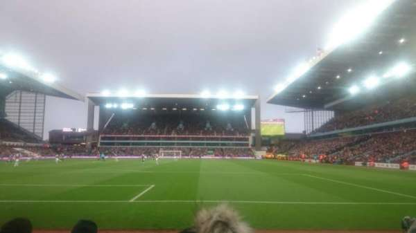 Villa Park, section: L4, row: D, seat: 100
