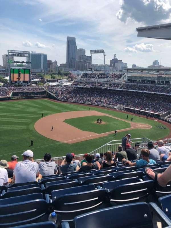 TD Ameritrade Park, section: 321, row: K, seat: 9