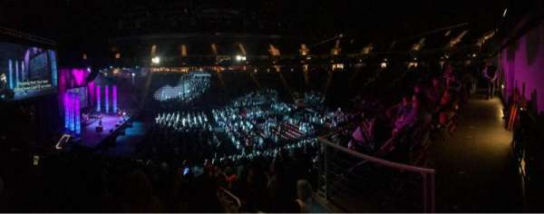 Giant Center, section: 119, row: W, seat: 1