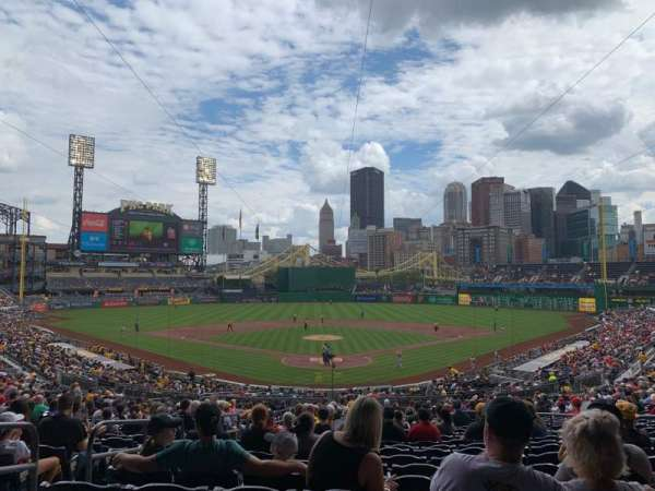 PNC Park, section: 116, row: CC, seat: 10