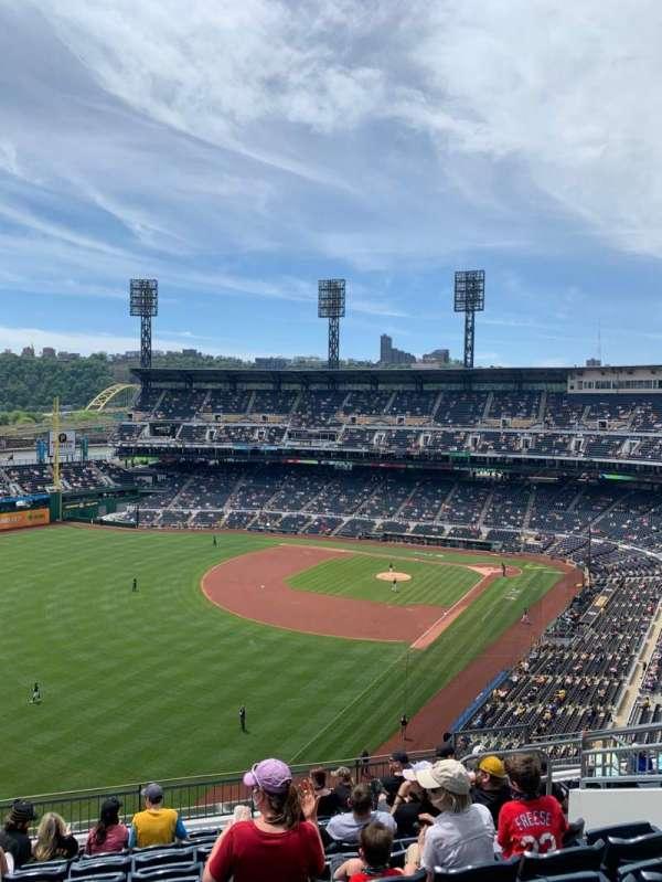 PNC Park, section: 333, row: L, seat: 9