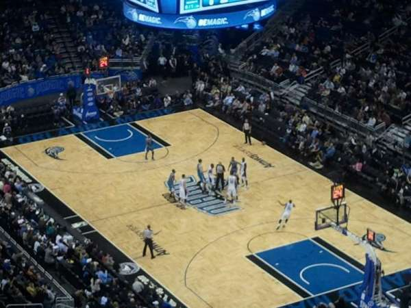 Amway Center, section: 206, row: 6, seat: 8