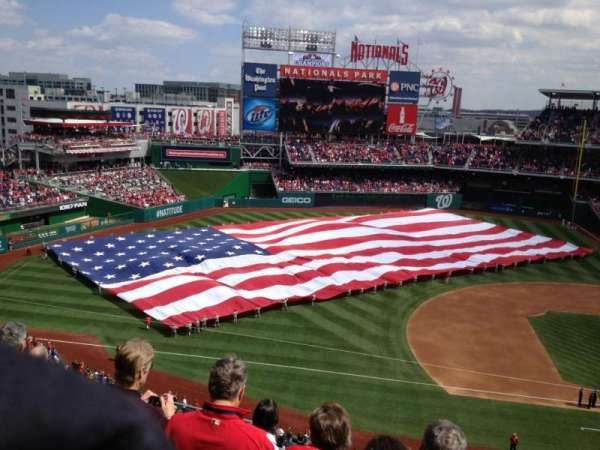 Nationals Park, section: 307, row: F, seat: 22