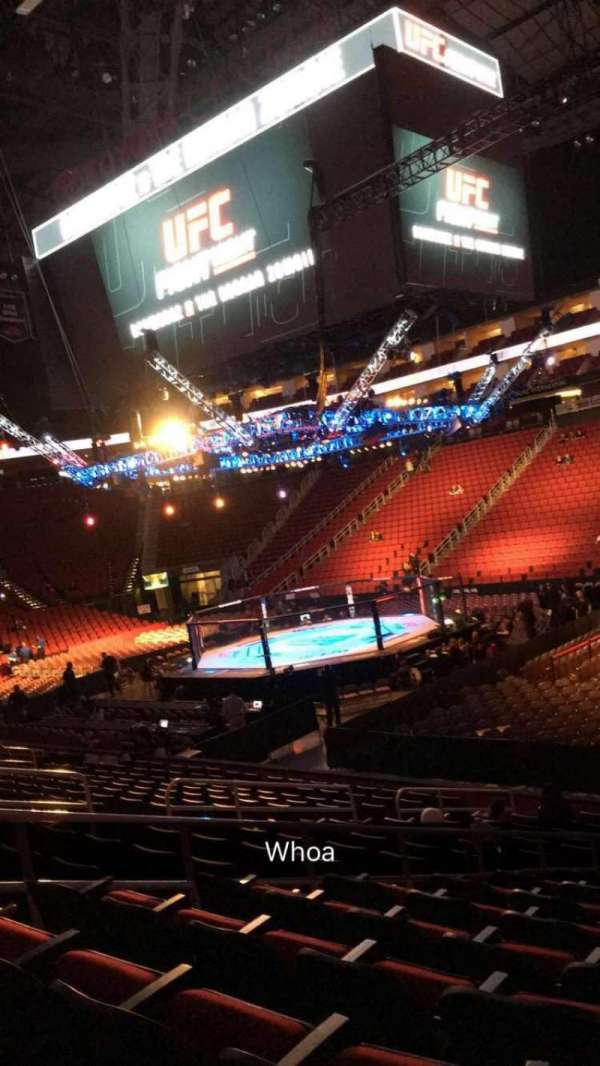 Toyota Center, section: 104, row: 15, seat: 4
