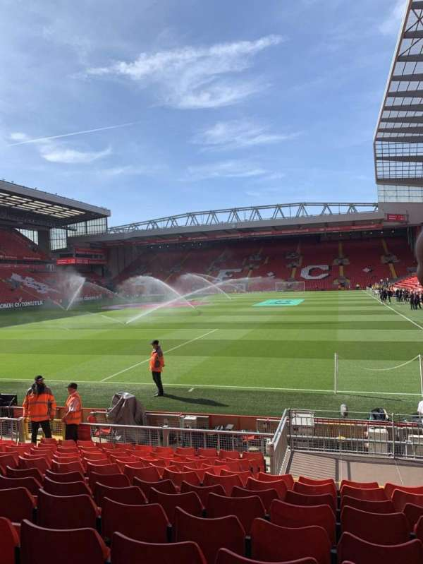 Anfield, section: 123, row: 15, seat: 46