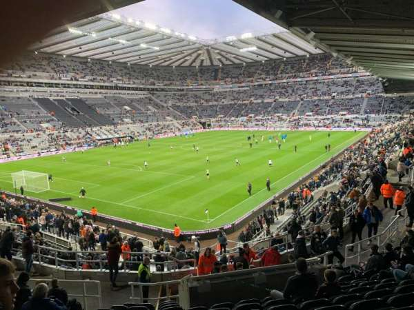St James' Park, section: Gallowgate East, row: N, seat: 82
