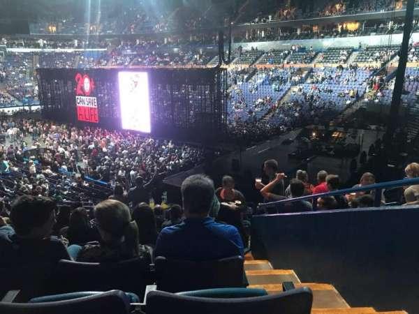 Enterprise Center, section: 126, row: BB, seat: 5