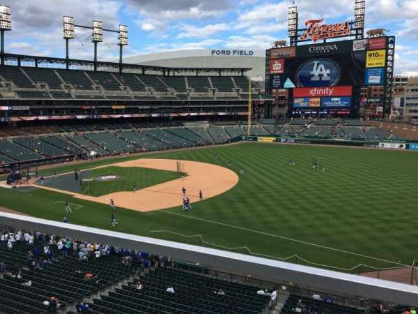 Comerica Park, section: 216, row: A, seat: 13