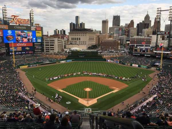 Comerica Park, section: 327, row: 20, seat: 28