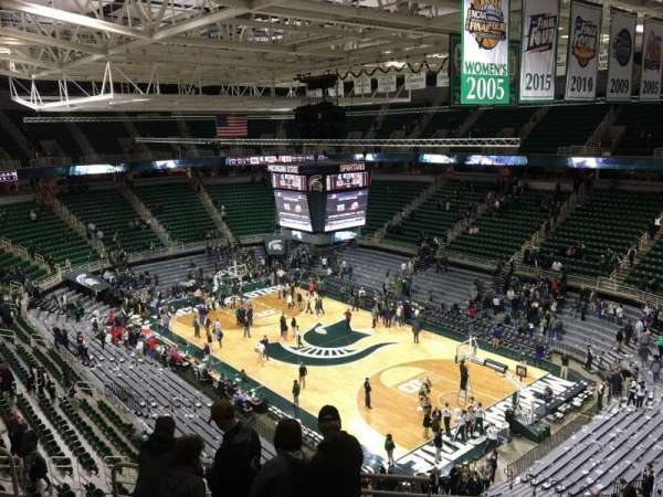 Breslin Center, section: 205, row: 17, seat: 2