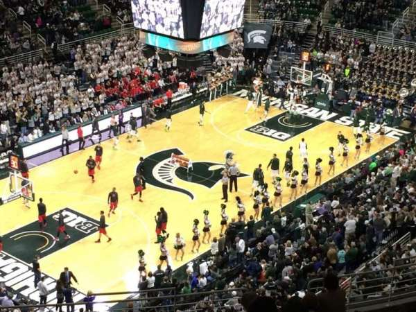 Breslin Center, section: 231, row: 17, seat: 4