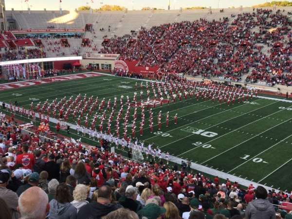 Memorial Stadium (Indiana), section: 102, row: 5, seat: 1
