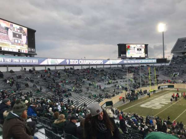 Spartan Stadium, section: 25, row: 45, seat: 28