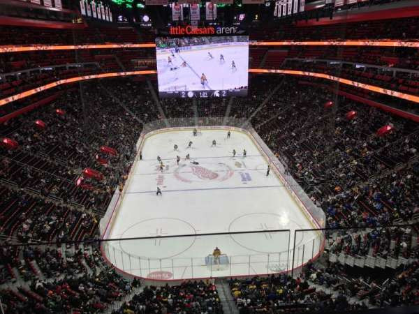 Little Caesars Arena, section: 219, row: 2, seat: 24