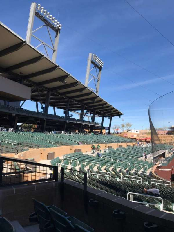 Salt River Fields, section: 211, row: 3, seat: 10