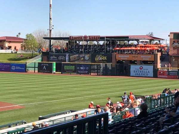 Scottsdale Stadium, section: 306, row: 3, seat: 6