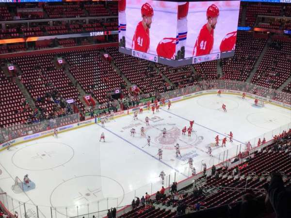Little Caesars Arena, section: 215, row: 6, seat: 11