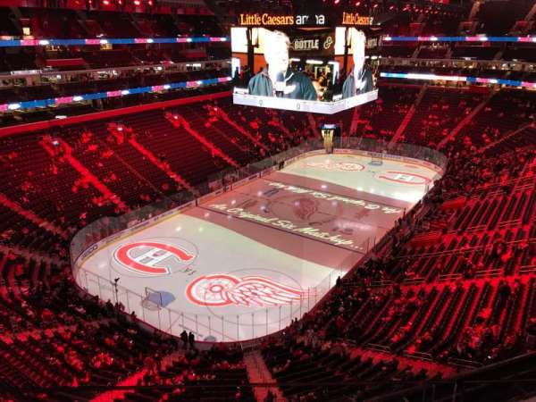 Little Caesars Arena, section: 231, row: 2, seat: 15