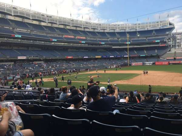 Yankee Stadium, section: 114b, row: 15, seat: 11