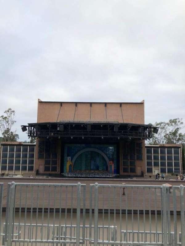 Moonlight Amphitheatre, section: Balcony, row: AA