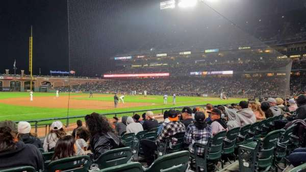 AT&T Park, section: Lower Box 127, row: 10, seat: 4