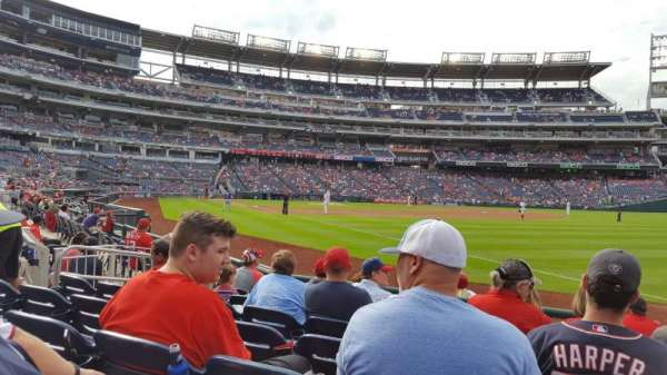 Nationals Park, section: 135, row: G, seat: 1-2
