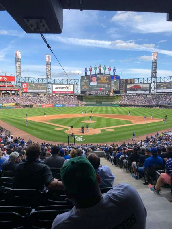 Guaranteed Rate Field, section: 132, row: WCH, seat: 1