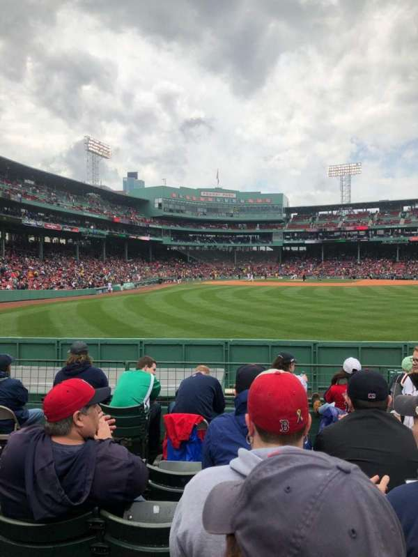Fenway Park, section: Bleacher 42, row: 7, seat: 16