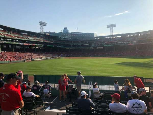 Fenway Park, section: Bleacher 40, row: 11, seat: 8