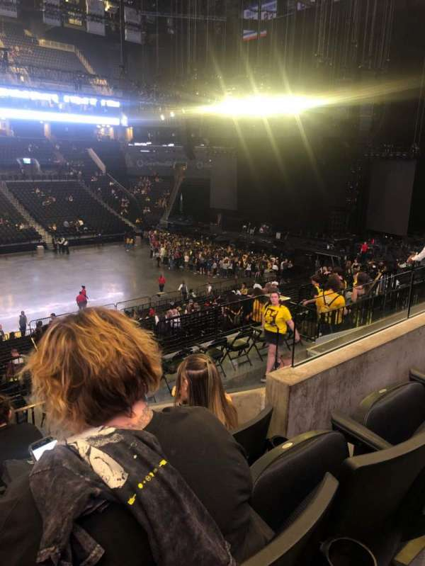Barclays Center, section: 109, row: 7, seat: 15