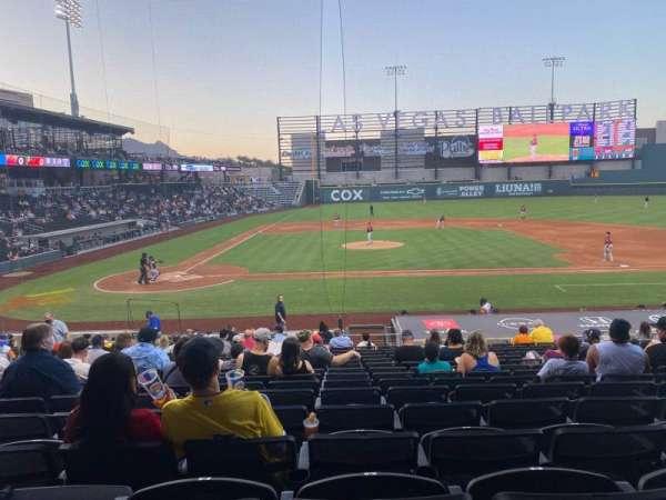 Las Vegas Ballpark, section: 108, row: V, seat: 11