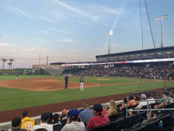 Las Vegas Ballpark, section: 117, row: G, seat: 8