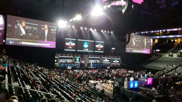 Barclays Center, section: 22, row: 20, seat: 1