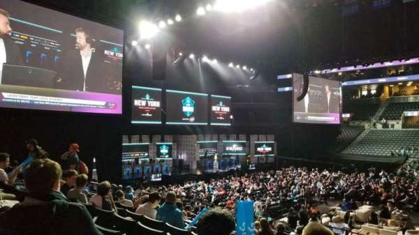 Barclays Center, section: 23, row: 17, seat: 3