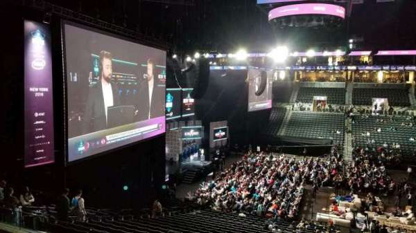 Barclays Center, section: 114, row: 9, seat: 1