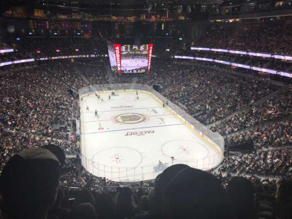 T-Mobile Arena, section: 213, row: J, seat: 4