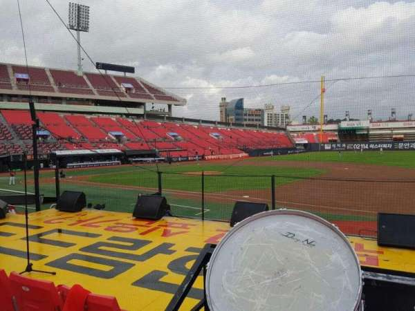 KT Wiz Park, section: 109, row: 3, seat: 26