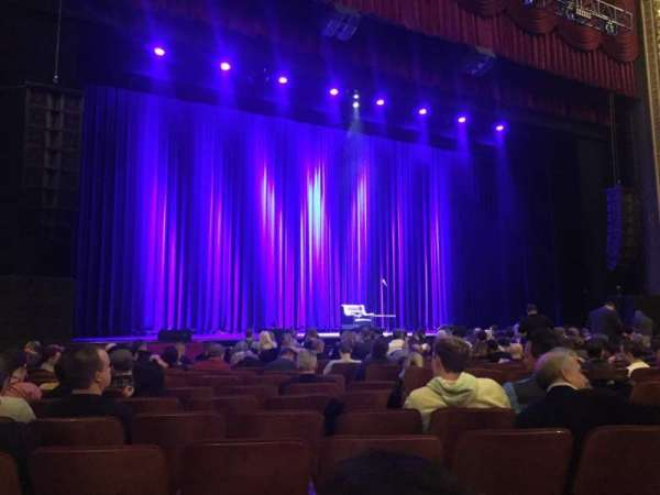 Chicago Theatre, section: MNFL3L, row: MM, seat: 313
