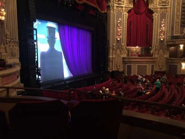 Oriental Theatre, section: DCIR-L, row: CC, seat: 7