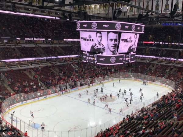 United Center, section: 322, row: 4, seat: 12