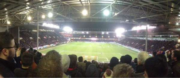 Bramall Lane, section: Kop Stand Ganway D, row: YY, seat: 109